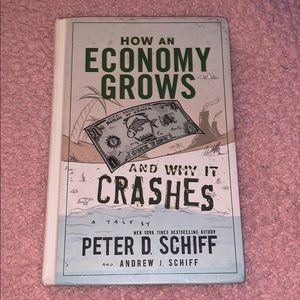 how an economy grows and why it crashes book